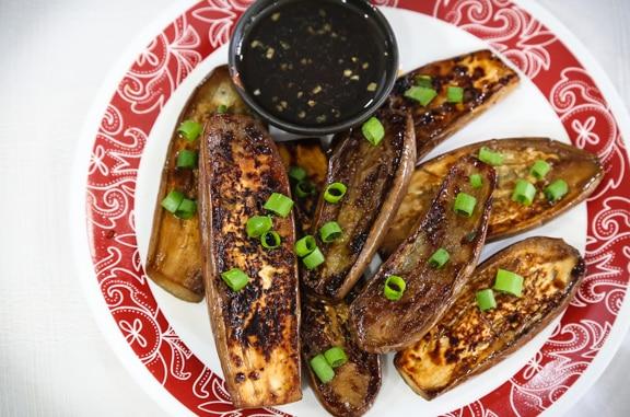 Japanese Teriyaki eggplant