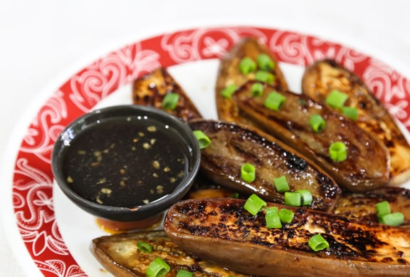 Eggplant Teriyaki recipe