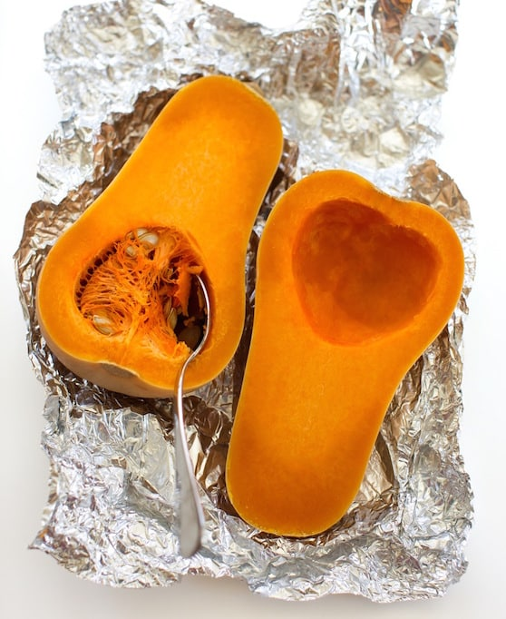 how to cut squash easily