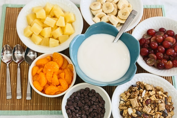 Fun and healthy food for kids vegkitchen fruit and yogurt ambrosia forumfinder Image collections