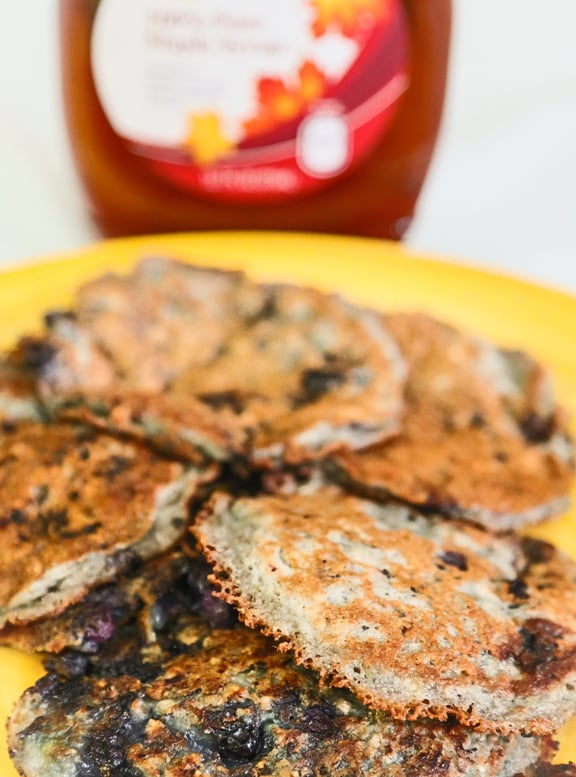 Vegan Blueberry Pancake recipe