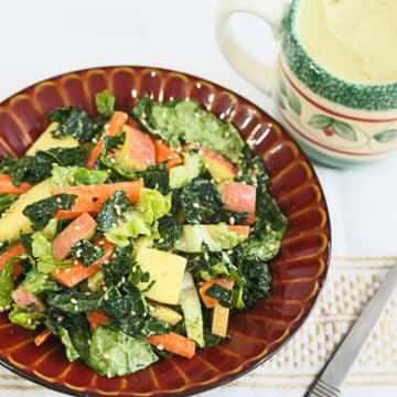 Kale, Romaine, and Apple Salad