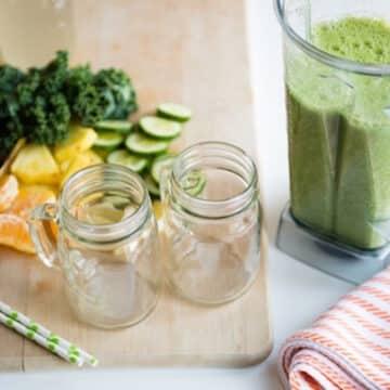 Citrus Bang kale smoothie