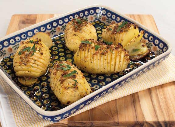 Crispy Potato Fans