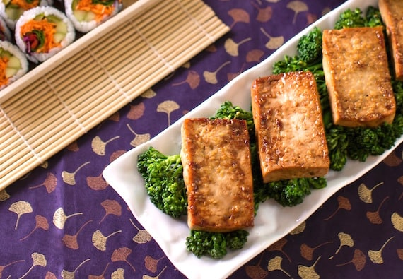 Tofu teriyaki recipe