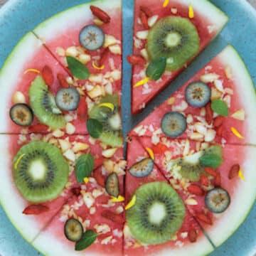"""Watermelon """"Pizza"""""""