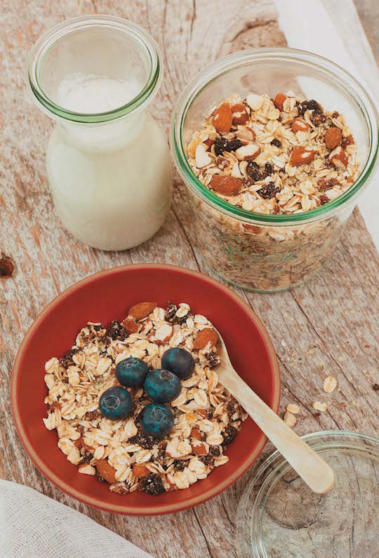 Cherry Hemp Muesli