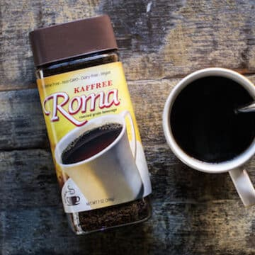 Kaffree roma roasted grain beverage review
