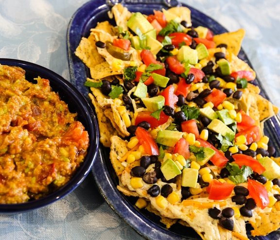 Black Bean Nachos Grandes recipe