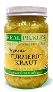 turmeric kraut - real pickles