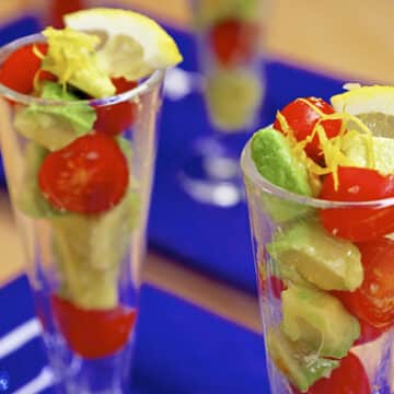 Avocado parfaits recipe by Laura Theodore