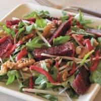 Arugula, jicama, & Blood orange Salad recipe