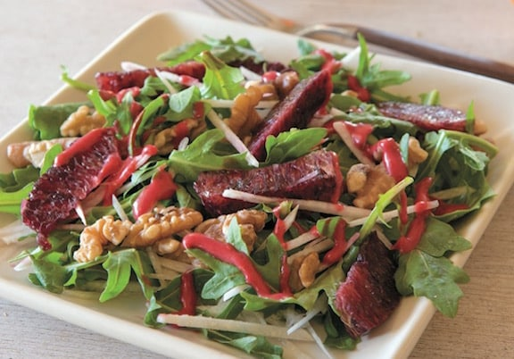 Arugula, jicama, & Blood orange Salad recipe