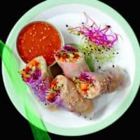 Sophisticated Summer Rolls recipe