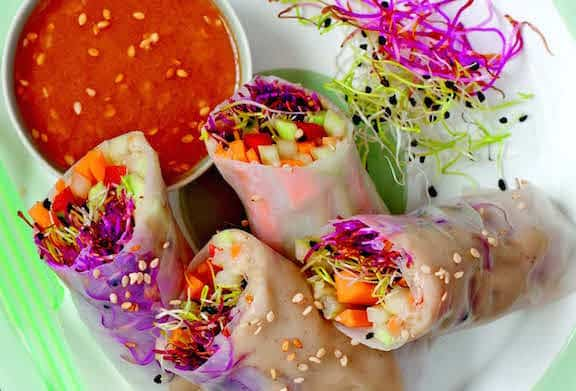 Sophisticated Summer Rolls cropped