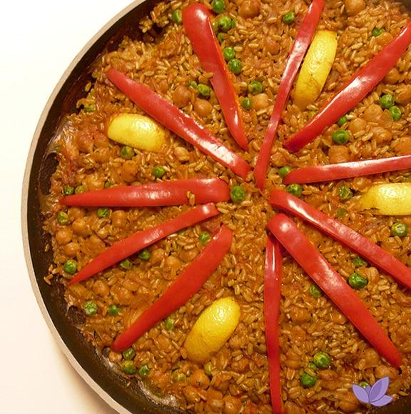 Vegan Chickpea Paella