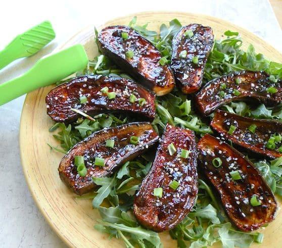 Hoisin eggplant recipe