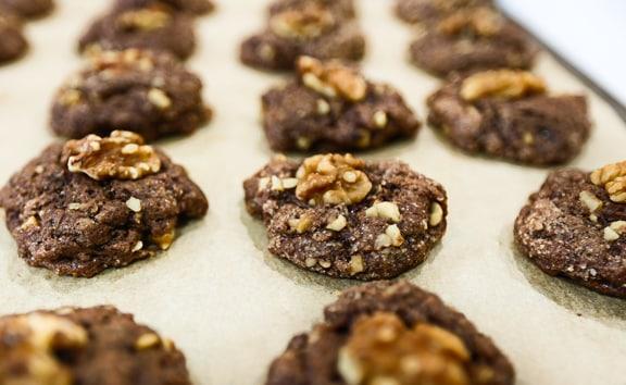 Einkorn cocoa cookies