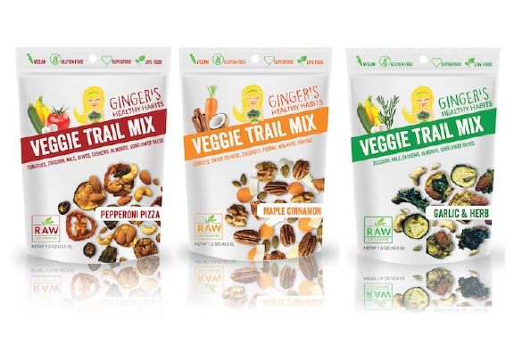 Ginger's Veggie Trail Mix