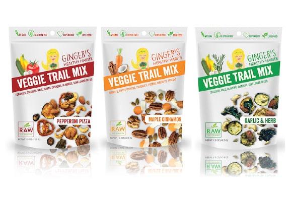 Ginger's Veggie Trail Mix