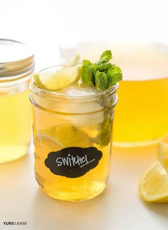 Ginger Maple Switchel Recipe