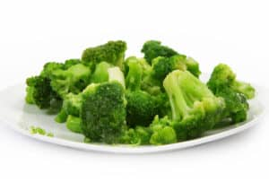 broccoli on a plate