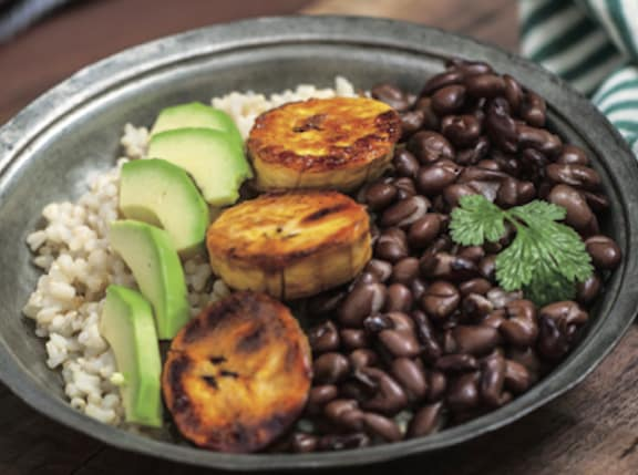 Cuban Brown Rice Bowl by Marco Borges