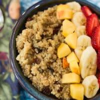 Quinoa-Maca breakfast bowls