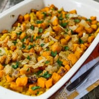 butternut squash and pasta casserole