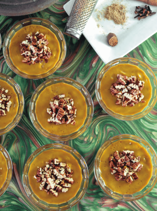 pumpkin pie mousse recipe by jo stepaniak
