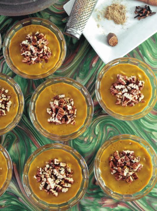 pumpkin pie mousse recipe by jo stepaniak