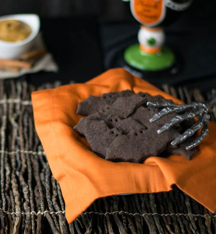 Vegan bat cookies recipe for Halloween by Kathy Hester