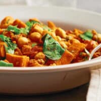 Curried yam stew by John McDougall