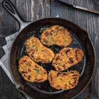 Isa Moskowitz chickpea cutlets recipe