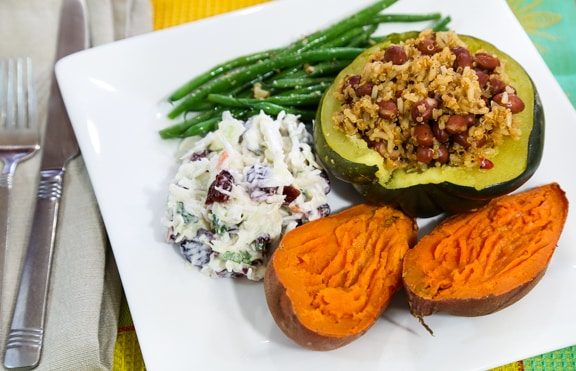 Last-minute vegan Thanksgiving dinner menu