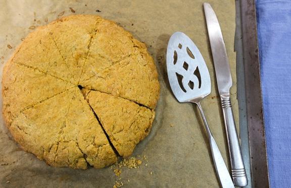 Peanut Butter & Jam Scones recipe