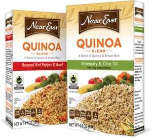 Near East quinoa brown rice pilaf