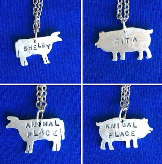 Christy Robinson aluminum necklaces