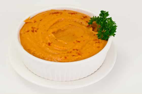 Hummus with Curry and Turmeric