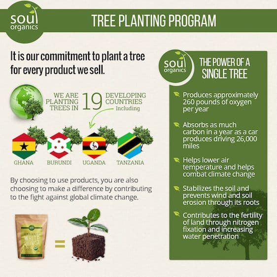 Soul Organics Tree Planting program
