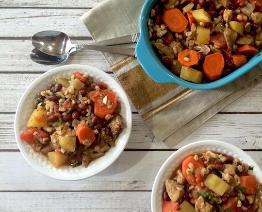 Vegan cholent recipe