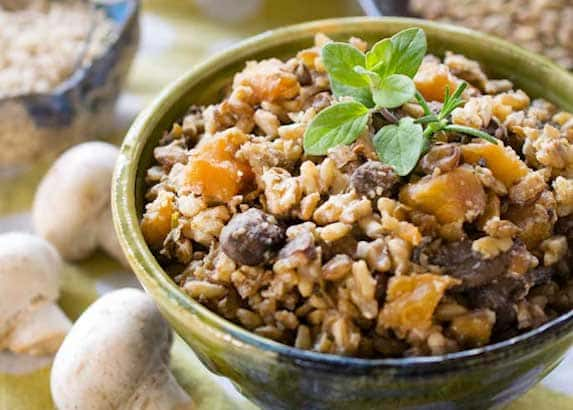 One pot lentils and rice