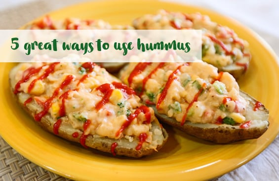 5 great ways to use hummus