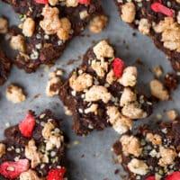 Vegan Chocolate Granola Clusters
