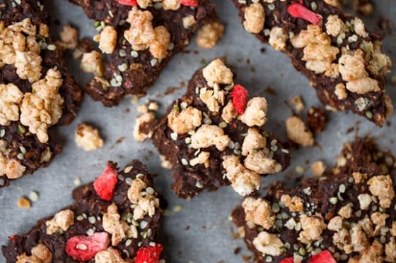 Vegan Chocolate Granola Clusters