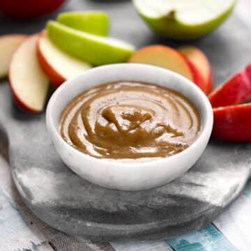 Vegan date caramel sauce