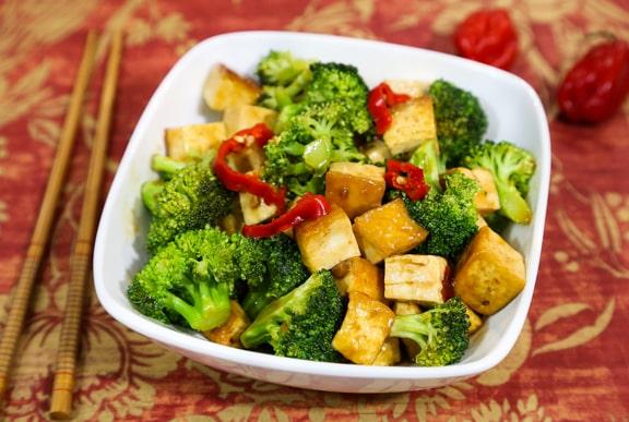 Totally Lazy General Tso's Tofu Dinner