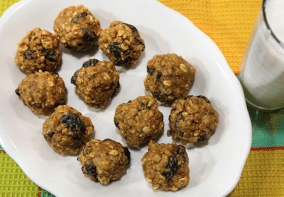 Granola Peanut butter energy balls