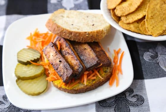 vegan Tofu bacon recipe