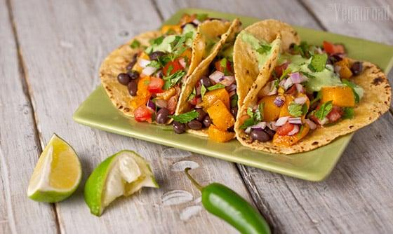 vegan street tacos